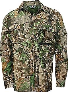 قميص رجالي 10X فائق الخفة بأكمام طويلة مع أطراف أكمام بأزرار قابلة للتعديل