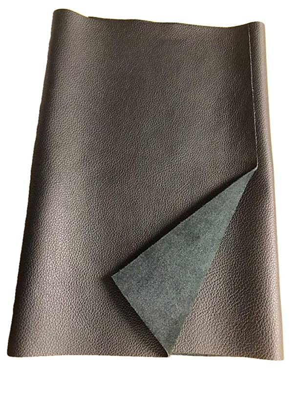 REED LEATHER HIDES - COW SKINS VARIOUS COLORS & SIZES (12 X 24 Inches 2 Square Foot, BLACK) ydsltqcftg