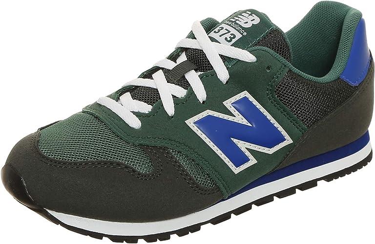 New Balance 373 Sneakers Verde Nero Blu Bianco YC373KE (39 - Verde ...