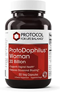 Protocol For Life Balance - ProtoDophilus Woman 20 Billion - Supports Vaginal Health, Helps to Reduce Occasional Bloating,...