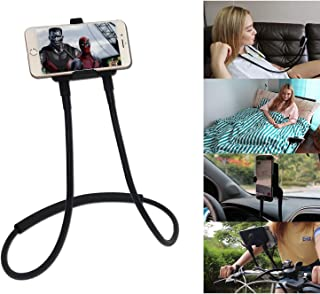 Polifall Upgrade Cell Phone Holder, Universal Mobile Phone Stand, Flexible Long Lazy Neck Waist Bracket, Adjustable 360° F...