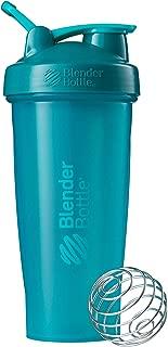 BlenderBottle Classic Loop Top Shaker Bottle, 28-Ounce, Teal/Teal