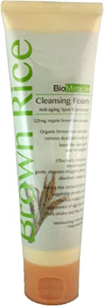 Bio-Miracle Organic Brown Rice Cleansing Foam, 4.25 Ounce