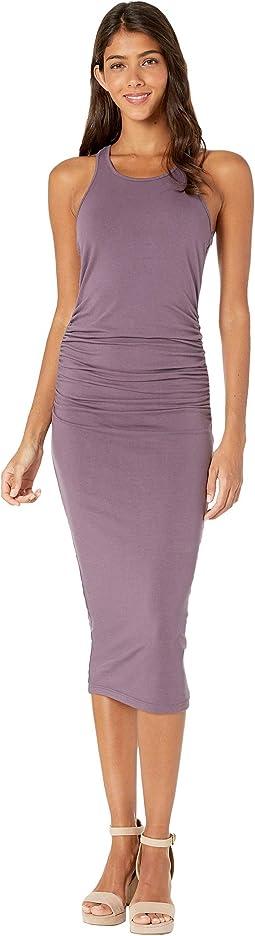 Racerback Dress w/ Shirring