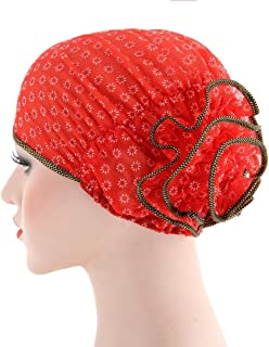 Scarf Chemo Hat Turban Head Scarves Pre-Tied Headwear Bandana for Cancer