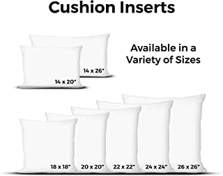 Urban Loft by Westex Polyester Cushion Insert, White , 14