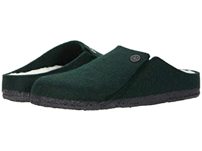 Birkenstock Zermatt Shearling (Forest Green/Natural Wool/Shearling) Shoes