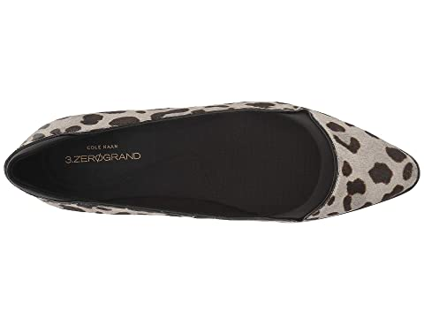 Haan LeatherDove Zerogrand SpruceOcelot Haircalf Sulpher Cole Black Skimmer Black 3 pqvnXx4