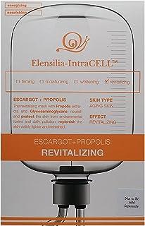 Revtailzing Escargot (Snail) & Propolis (Vitamin) Sheet Mask by Elensilia-Intracell - for ANTI AGING/REVITALIZING/SKIN REG...