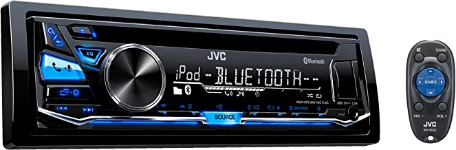 JVC KD-SR82BT 1-DIN CD Receiver (Renewed)