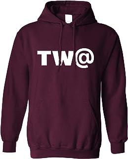 TW@ Hoodie Offensive Swearing Symbol Joke Hooded Jumper