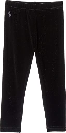 Stretch Velvet Leggings (Toddler)