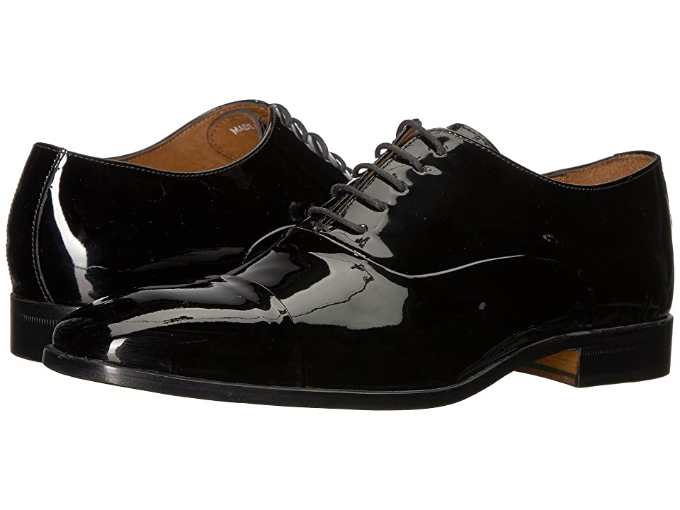 Massimo Matteo Patent Formal Bal (Black/Black) Men