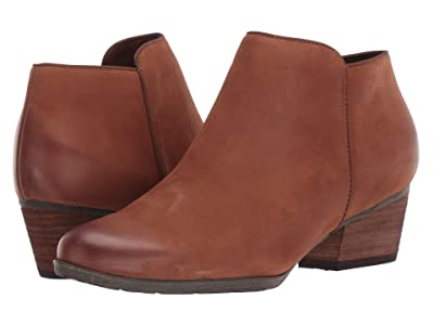 Blondo Villa Waterproof Bootie (Cognac Nubuck) Women