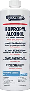 MG Chemicals 99.9% Limpiador líquido de alcohol isopropílico, transparente, botella de 945 ml