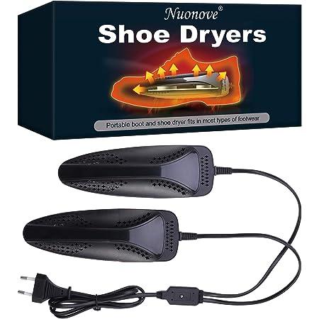 Asciuga Scarpe, Scaldascarpe, Asciuga Stivali, Essiccatore Deodorante, Scalda e asciuga scarpe, Riscaldamento Rapido Dual Core all'interno Per tutte le Scarpe Deumidificazione Deodorante