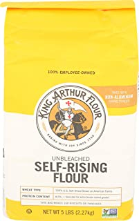 King Arthur, Flour Unbleached Enriched Self Rising, 80 Ounce