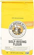 King Arthur, Flour Unbleached Enriched Self Rising, 80 Ounce
