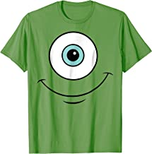 Disney Monsters Inc. Mike Eye Halloween Graphic T-Shirt