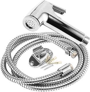 Auveach Handheld Bidet Sprayer Stainless Steel Bathroom Toilet Diaper Complete Bidet Set Hand Bidet