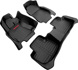 AWEMAT Custom Fit Car Floor Mats for Subaru Forester 2014-2018 Floor Liner Digital Measured Exquisite Pattern -Large Coverage -Waterproof-All Weather Protection-Black