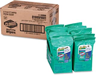 Clorox Disinfecting Wipes On The Go Fresh Scent