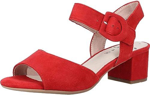 Jana zapatos Ladies Sandal rojo
