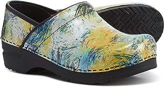 Sanita Professional Limited Edition Multi Color Women's Pattern Clogs