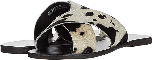 Black Cow Print