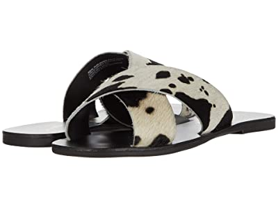 Seychelles Total Relaxation (Black Cow Print) Women