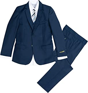 Spring Notion Boys' Navy Slim Fit Suit