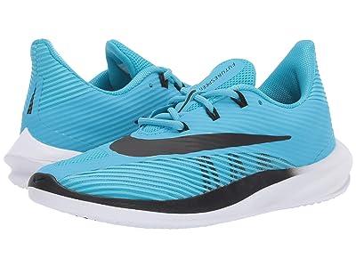 Nike Kids Future Speed (Big Kid) (Blue Fury/Black/Black) Boys Shoes