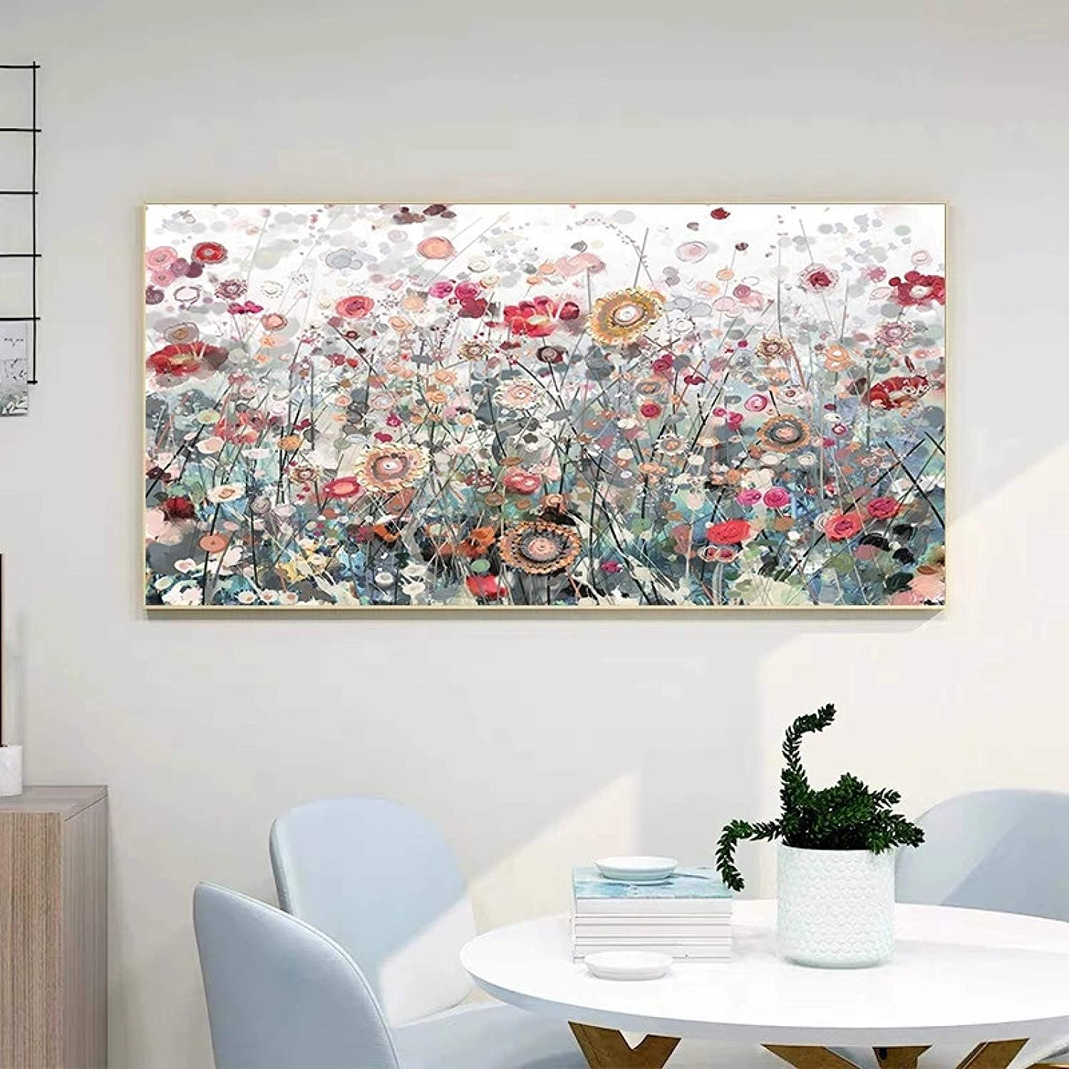 Max 63% OFF Prints Wall Art Modern Flowers Canvas Color online shopping Flower Painting Pain