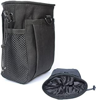 CREATRILL Tactical Molle Drawstring Magazine Dump Pouch, Military Adjustable Belt Utility..