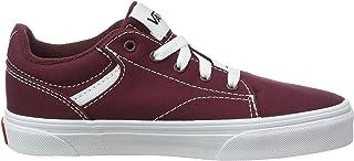 Vans Seldan, Sneaker Unisex niños, Red Canvas Port Royale Blanco 8j7, 34.5 EU