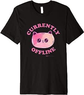 Purr-fect Cat Currently Offline Premium T-Shirt
