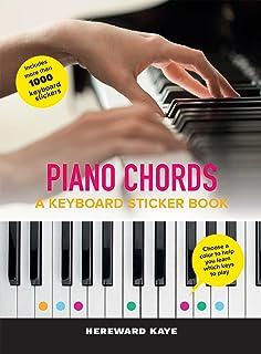 Piano Chords: A Keyboard Sticker Book: The Sticker Book