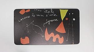 Ming Productions - Joan Miro Colored Pencil Set - Set of 12 - Une Étoile Caresse le Sein d'une Négresse (1938)