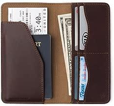 Saddleback Leather Co. Long RFID Slim Leather Bifold Wallet Includes 100 Year Warranty