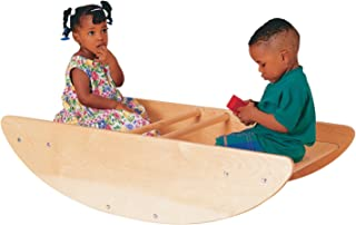 Childcraft Rocking Boat, 46-1/8 x 24 x 11-1/2 Inches