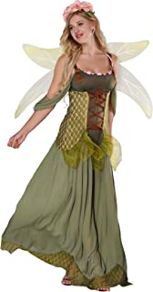 Fairy Costume Women - Forest Princess Costume Adult Halloween Fairy Tale Godmother Costumes