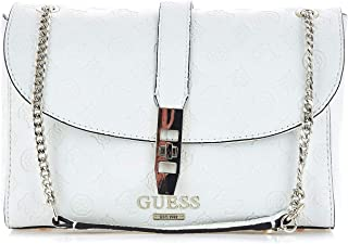 Luxury Fashion | Guess Womens HWSG7398180IVORY White Shoulder Bag | Fall Winter 19