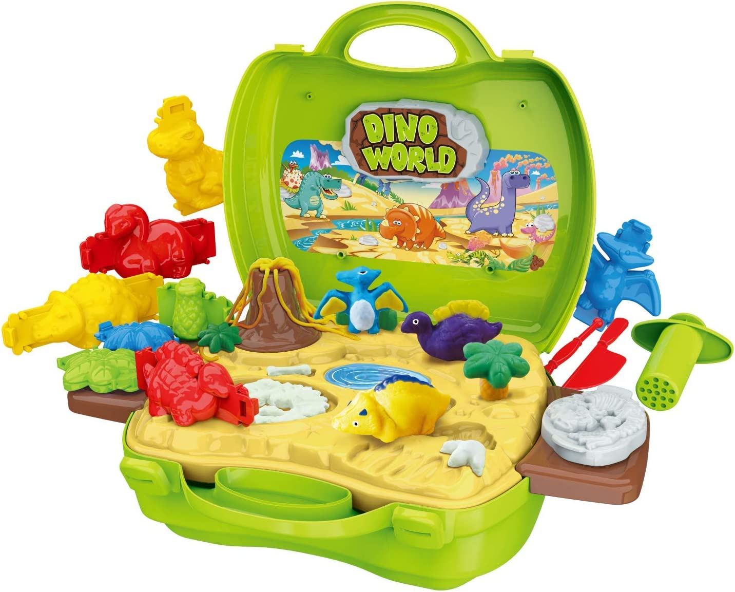 Christoy Dinosaur Toys Set 26 Fashion Pieces Dou Toxic Kids Safe Non supreme for