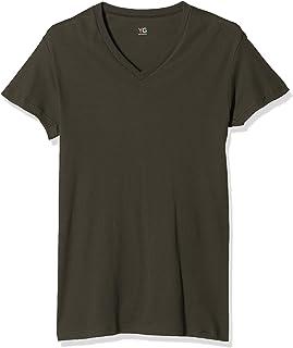 [グンゼ] Tシャツ YG(ワイジー) HOT-ON COTTONシリーズ Vネック メンズ