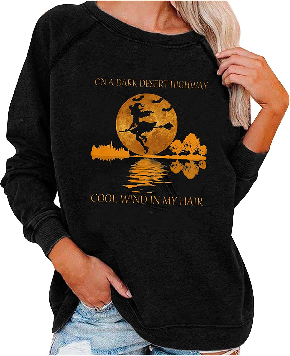 Women's Oakland Mall Costumes Halloween Crewneck Gorgeous Funny Sweatshirts Graphic To