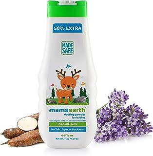 Mamaearth dusting powder with organic oatmeal & arrowroot powder 150g