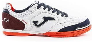 Chaussures de soccer pour hommes TG 43 Joma Top Flex 820 White-Blue Tops.820.TF