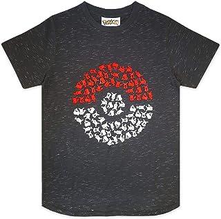 Pokemon Pika Pokeball Boy's T-Shirt