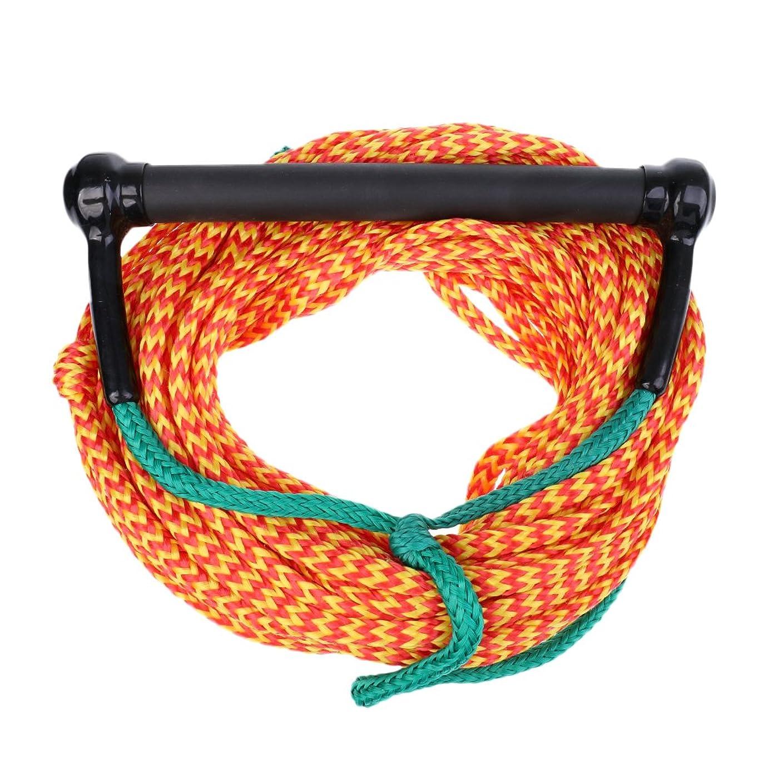 昇る用語集従来のDovewill スノーボード 水上スキー ヨット ロープ コード リーシュコード ハンドル付 耐久性 3色選べる - オレンジ、グリーン