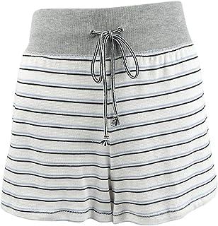 Alfani Women's Ultra Soft Striped Pajama Shorts